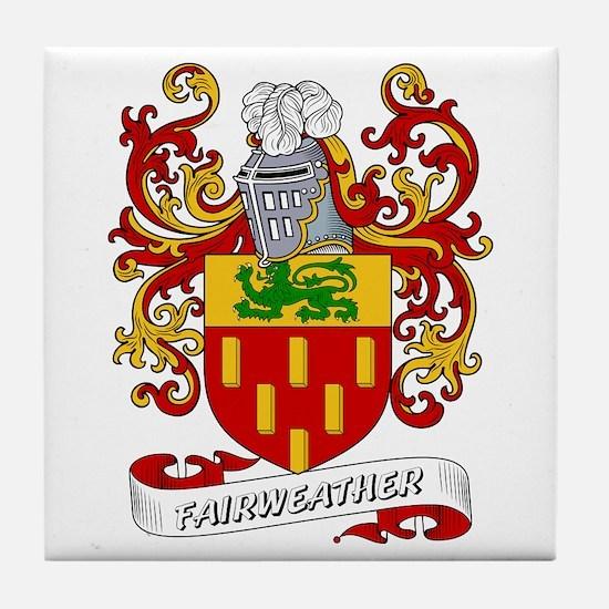 Fairweather Coat of Arms Tile Coaster