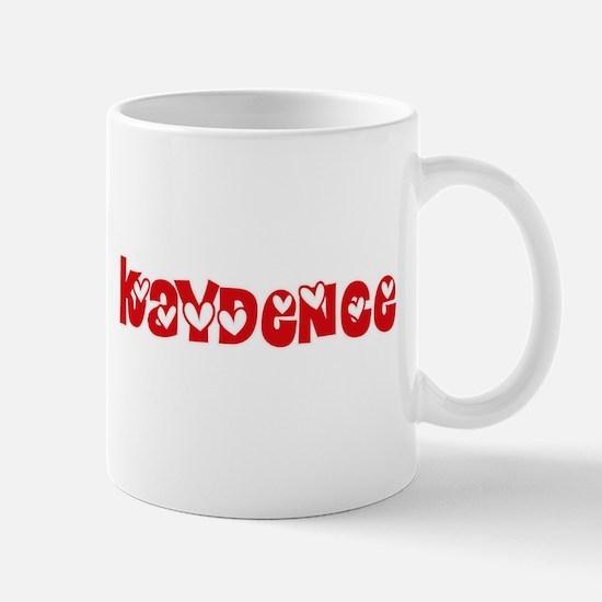 Kaydence Love Design Mugs