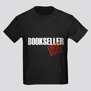 Off Duty Bookseller Kids Dark T-Shirt