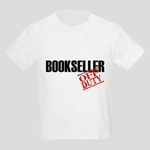 Off Duty Bookseller Kids Light T-Shirt