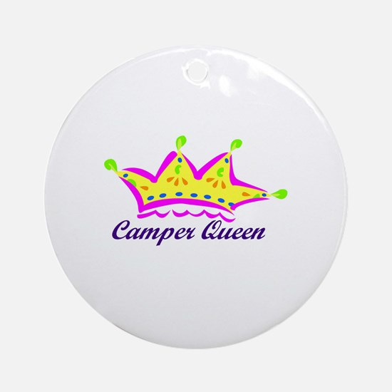 camperqueen Ornament (Round)