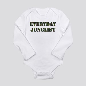 Everyday Junglist (Black Border) Infant Bodysuit B