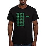 Okra Fitted Dark T-Shirts