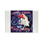 Cat Pisces Rectangle Magnet (10 pack)