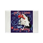 Cat Pisces Rectangle Magnet (100 pack)