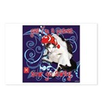 Cat Pisces Postcards (Package of 8)
