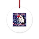 Cat Pisces Ornament (Round)