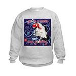 Cat Pisces Kids Sweatshirt