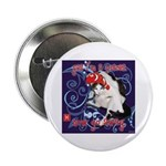 "Cat Pisces 2.25"" Button (100 pack)"