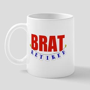 Retired Brat Mug