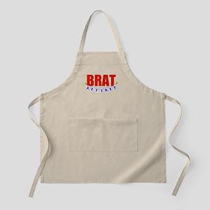 Retired Brat BBQ Apron