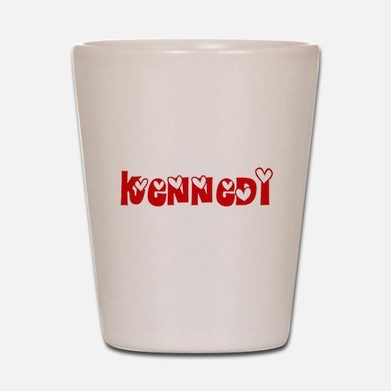 Kennedi Love Design Shot Glass