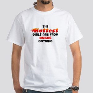 Hot Girls: Angus, ON White T-Shirt