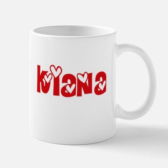 Kiana Love Design Mugs
