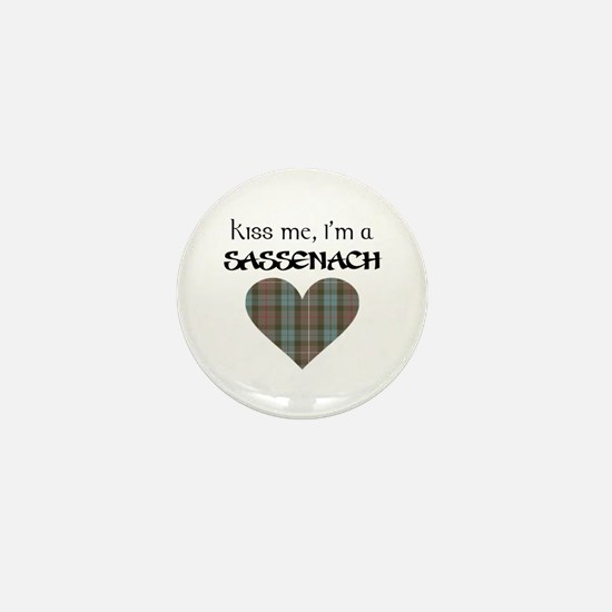 Kiss Me Mini Button