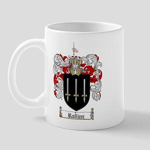 Rollins Family Crest Mug