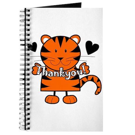 Tiger Thankyou Journal