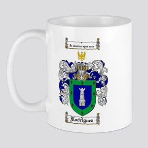 Rodriguez Coat of Arms Mug