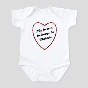 My Heart Belongs to Bubbie Baby Onesie