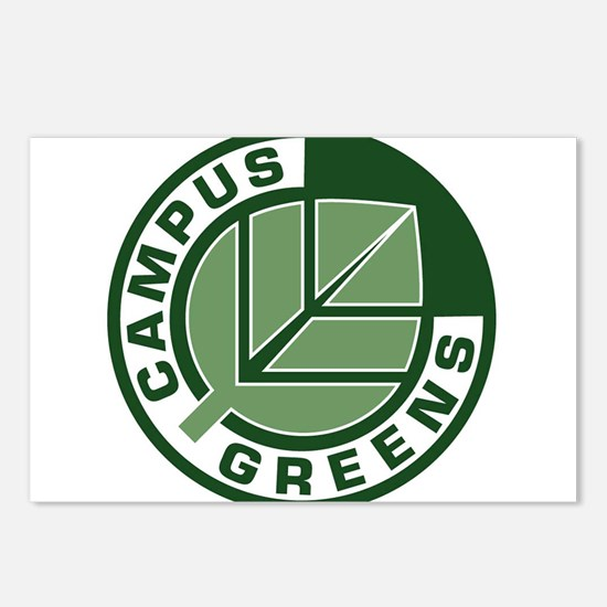 Campus Greens Postcards (Package of 8)