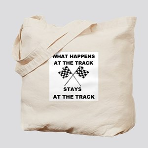 AT THE TRACK Tote Bag