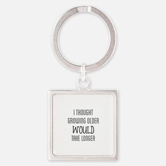 I Thought Growing Older Would Take Longe Keychains