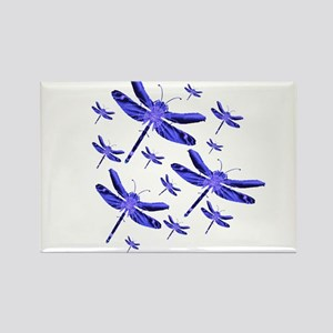 Dragonflies Rectangle Magnet