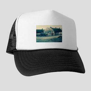 Cyanotype Claddagh Trucker Hat