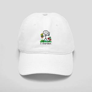 Gardening Stick Figure Cap