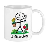 Gardening Stick Figure Mug