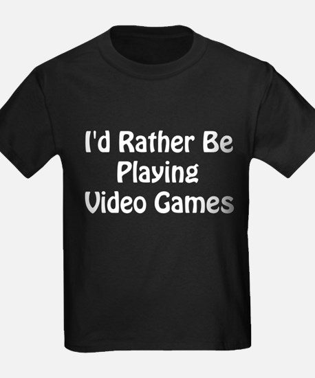 Playing Video Games T