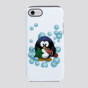 Cute Swimmer Penguin Swimmin iPhone 8/7 Tough Case