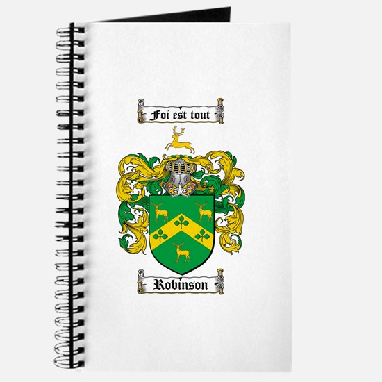 Robinson Coat of Arms Journal