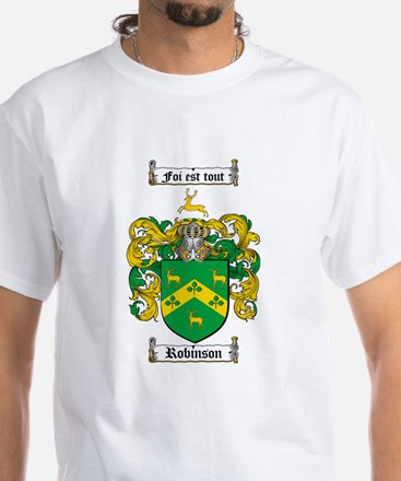 Robinson Coat of Arms White T-Shirt