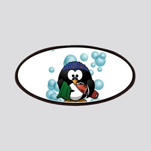 Cute Swimmer Penguin Swimming Patch