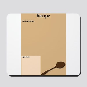 Recipe Page Mousepad