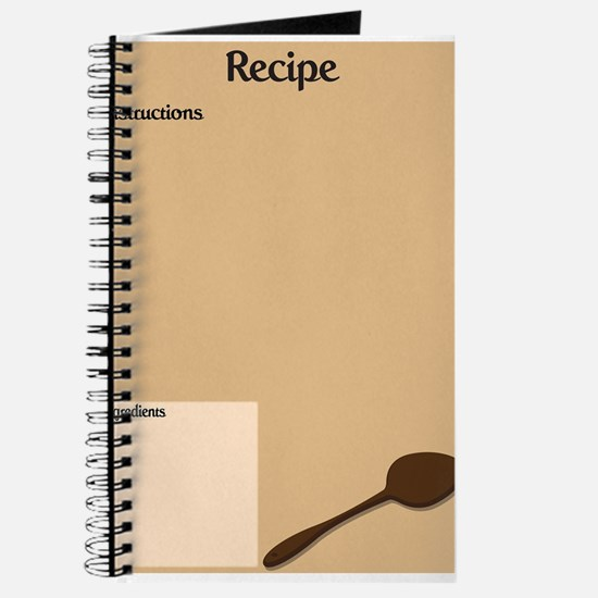 Recipe Page Journal