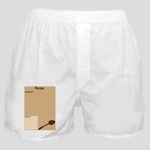 Recipe Page Boxer Shorts