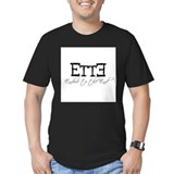Endure to the end Fitted Dark T-Shirts