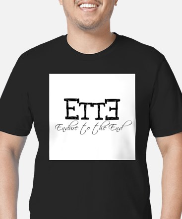 endure to the end White T-Shirt