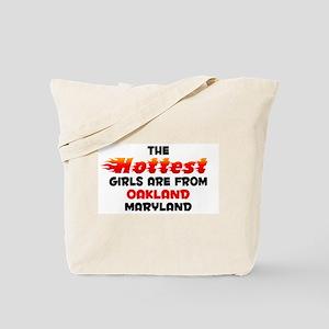 Hot Girls: Oakland, MD Tote Bag