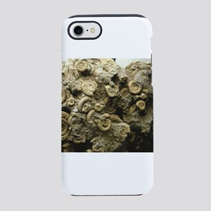 cluster of fossil shells iPhone 8/7 Tough Case
