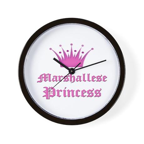 Marshallese Princess Wall Clock