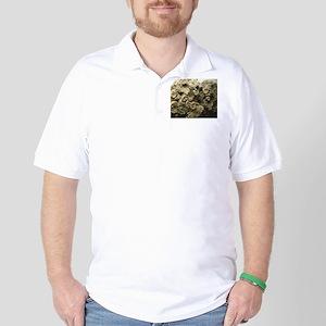 cluster of fossil shells Golf Shirt