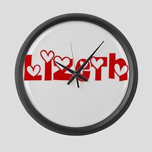Lizeth Love Design Large Wall Clock