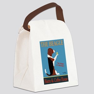 The Beagle Bistro & Coffee Shop Canvas Lunch Bag