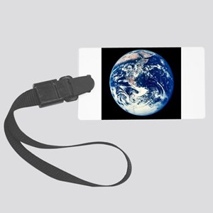 Earth Large Luggage Tag