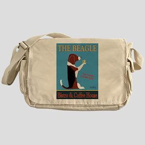 The Beagle Bistro & Coffee Shop Messenger Bag