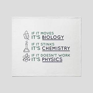 Science Stadium Blanket