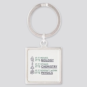 Science Square Keychain